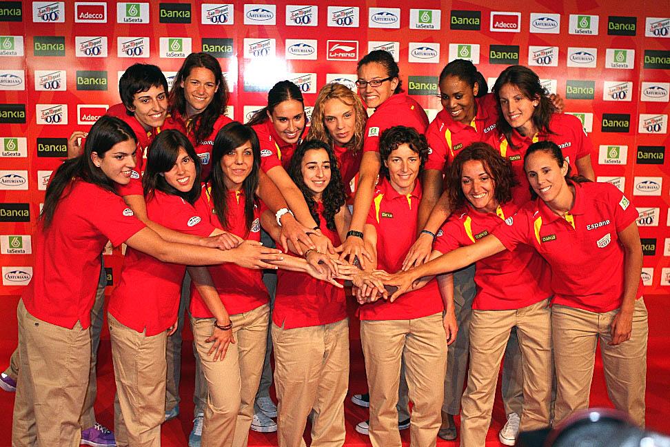 selección española de baloncesto femenino