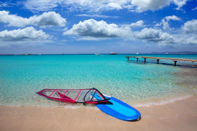 Playa en Formentera