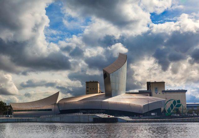 Manchester Reino Unido Museo Imperial de Guerra Gordon Bell Shutterstock