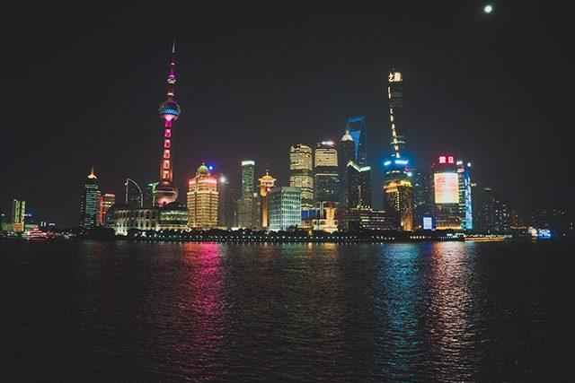 Shanghái Noche Bund China