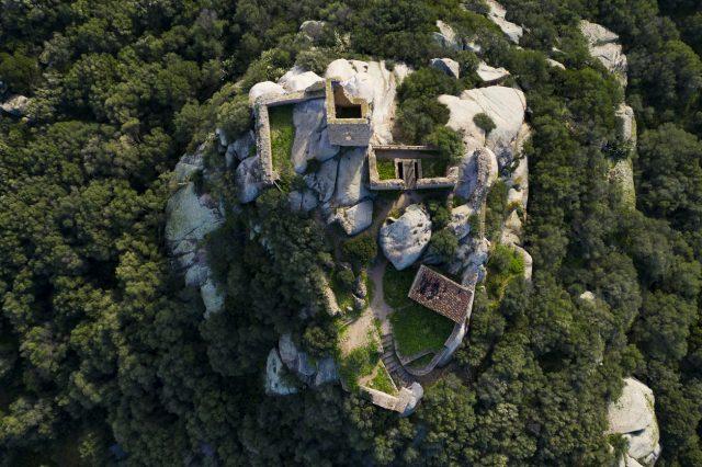 Castillo de Pedres, Olbia
