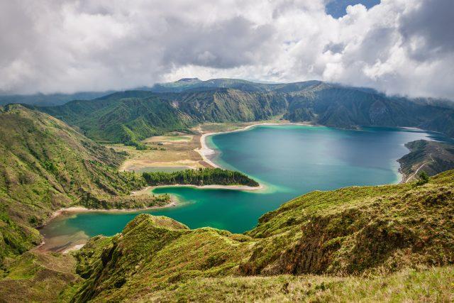 Lago de Fogo San Miguel Islas Azores Portugal