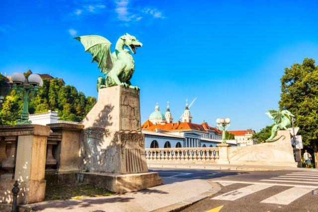 Puente del dragón, Liubliana