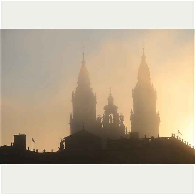 Early morning in Santiago de Compostela