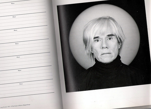 Andy Warhol, 1987 @ The Estate of Robert Mapplethorpe